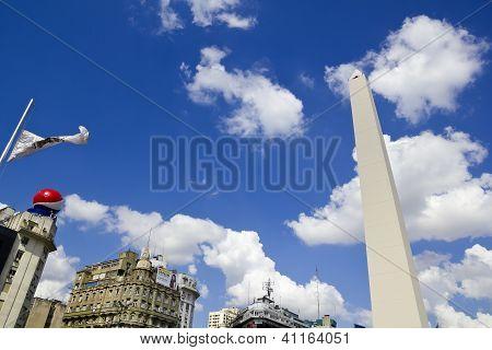 Obelisco. Buenos Aires, Argentina