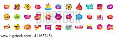 Discount Offer Sale Banners. Best Deal Price Stickers. Black Friday Special Offer Tags. Sale Bubble