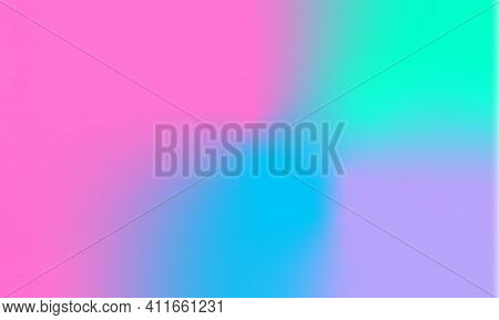 Abstract Iridescent Background. Design For Backdrop, Phone Wallpaper, Application Design, Website In
