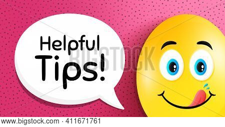 Helpful Tips Symbol. Easter Egg With Yummy Smile Face. Education Faq Sign. Help Assistance. Easter S