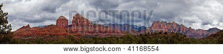 Cathedral Rock in Sedona Arizona Panoramic