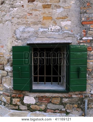 Window In The Town Of Grado