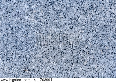 Texture Of Natural Stone Grey And Blue Granite Close Up