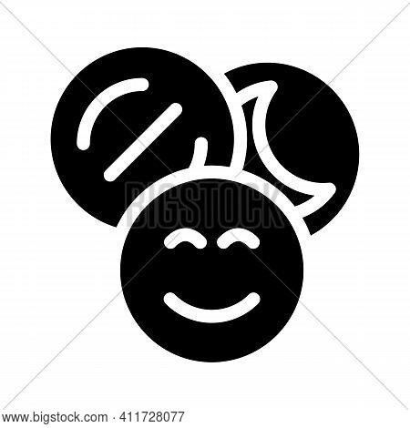 Narcotic Drugs Glyph Icon Vector Illustration Sign