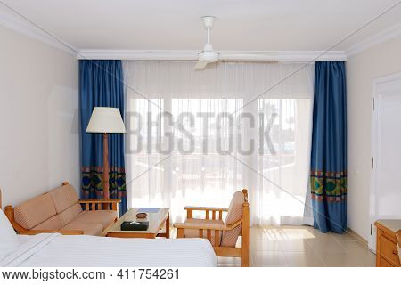 Sea View Apartment With Ventilator In The Luxury Hotel, Sharm El Sheikh, Egypt