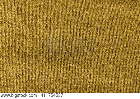 Texture Of Brown Fleecy Fabric. Brown Background Texture