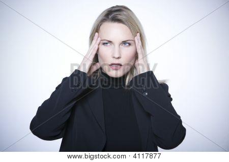 Beautiful Expressive Woman