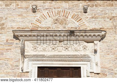 Basilica of San Salvatore, UNESCO site, Spoleto, Umbita, Italy