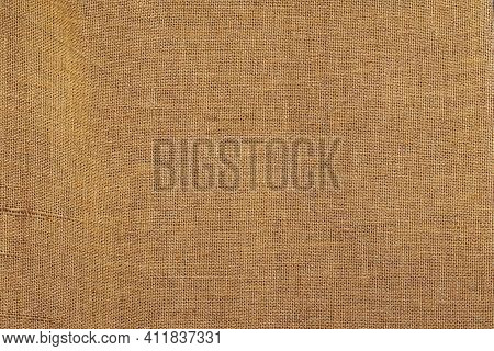Natural Organic Sackcloth, Brown Canvas, Sackcloth Or Burlap, Texture For Background