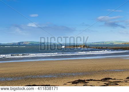 Garylucas Beach  Is A White Sandy Beach Located At The Old Head Of Kinsale In County Cork, Ireland.