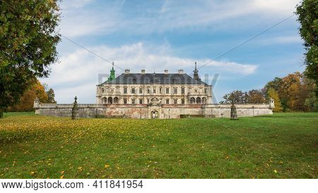 Pidhirtsi Castle Is A Residential Castle-fortress Located In The Village Of Pidhirtsi In Lviv Region