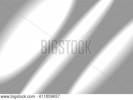 Transparent Shadow And Sunbeams On The Wall Background For Decorating Your Design, Photos Or Mockups