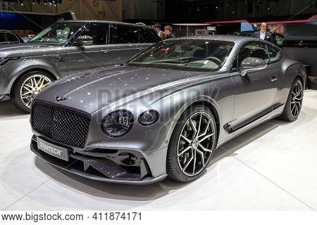 Geneva, Switzerland - March 5, 2019: Startech Bentley Continental Gt Car Showcased At The 89th Genev