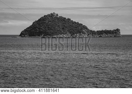 View Of The Gallinara Island