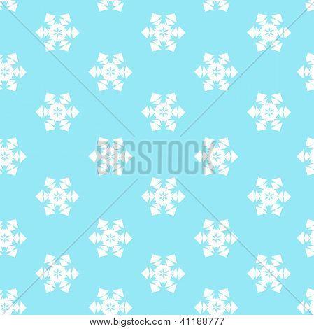 Seamless With Snow