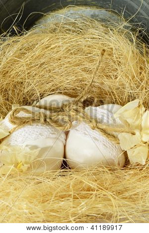 Easter Egg Nest...