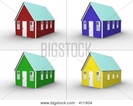 House Color Collage