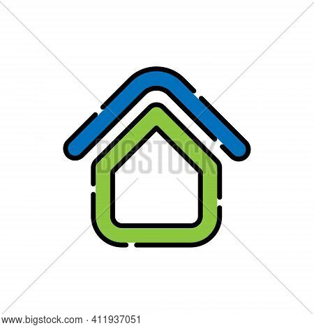 Home. Home Logo. Real estate logo. Property logo. House Logo. Home vector, Home Logo vector, Home symbol, Home sign, Home Logo design. House Logo icon vector. Home vector icon symbol for website, logo, app. Home icon isolated on white background