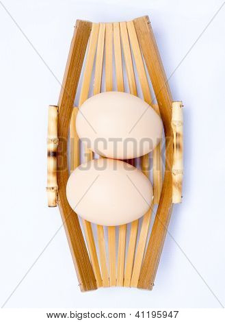 Close up egg