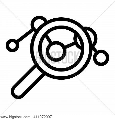 Market Target Audience Icon. Outline Market Target Audience Vector Icon For Web Design Isolated On W