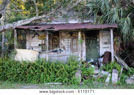 Run-down Old House
