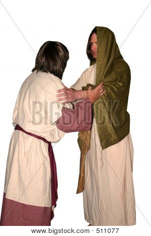 Jesus And His Disciple