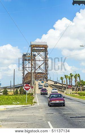 Draw Bridge At Lower Ninth Ward