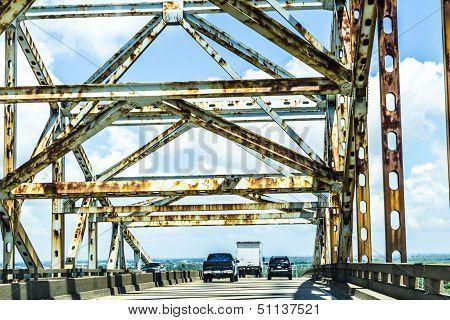 Green Bridge In New Orleans