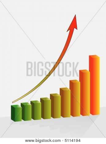 Graph The Growth Of Financial Success
