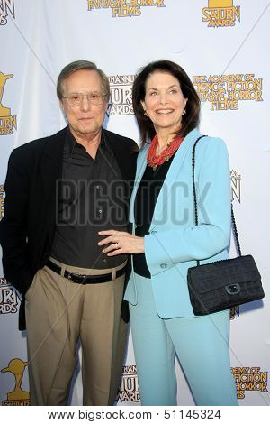 LOS ANGELES - JUN 26:  William Friedkin. Sherry Lansing arrives at the 39th Annual Saturn Awards at the Castaways on June 26, 2013 in Burbank, CA
