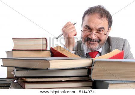 Smiling Professor