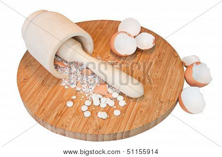 Calcium Pills From Chapping Eggs Shell