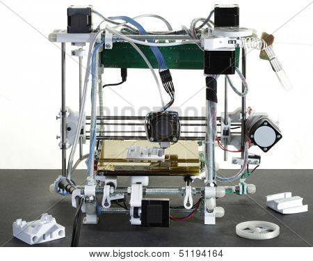 Printing Plastic Wire with 3D Printer