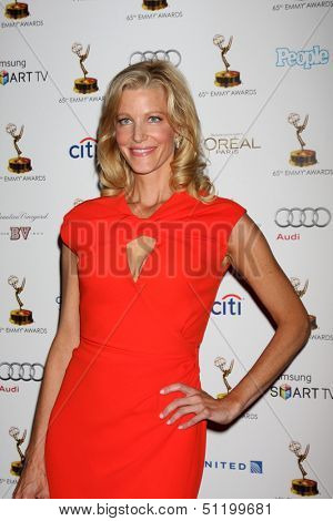 LOS ANGELES - SEP 20:  Anna Gunn at the Emmys Performers Nominee Reception at  Pacific Design Center on September 20, 2013 in West Hollywood, CA