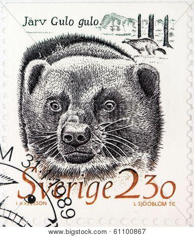 Wolverine Stamp