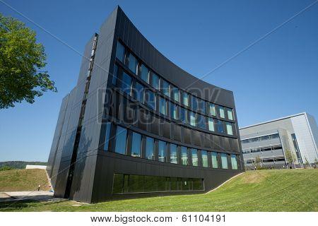 JENA, GERMANY - MAY, 08, 2011: ABBE Center of Photonics (ACP) Campus Beutenberg in Jena. Germany