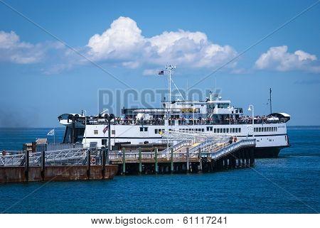Ferry Arrival Martha's Vineyard