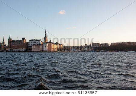 View of the island Riddarholmen