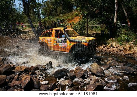 Racer Off Road At Terrain Racing Car Competition