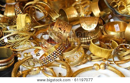 gold jewelry and precious gold jewellery for sale in jewellery in Italy poster