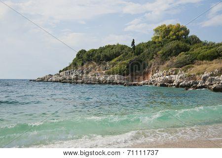 Beach on Corfu