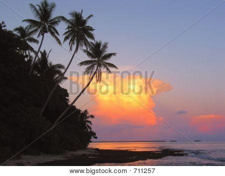 Polynesian Island Sunset