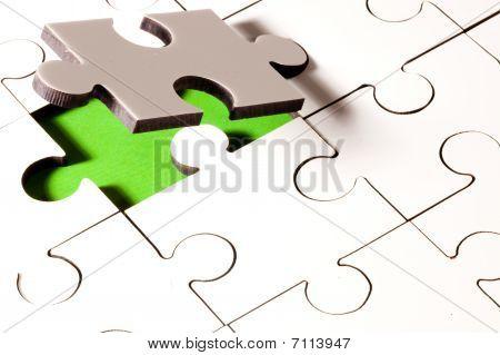 Falling Jigsaw Piece