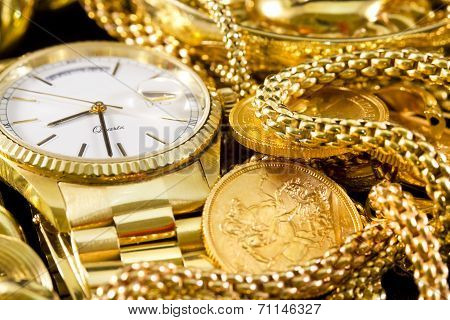 Jewelry, Gold,