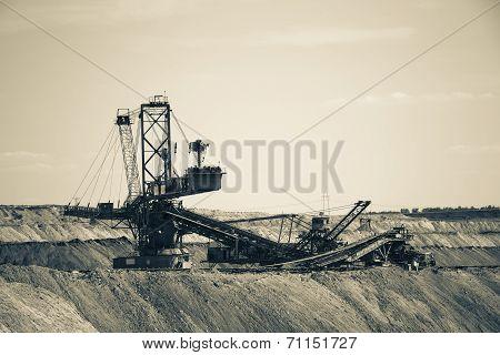 Working Coal Mine