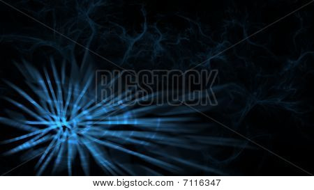 Abstract Sparkler On Red Background
