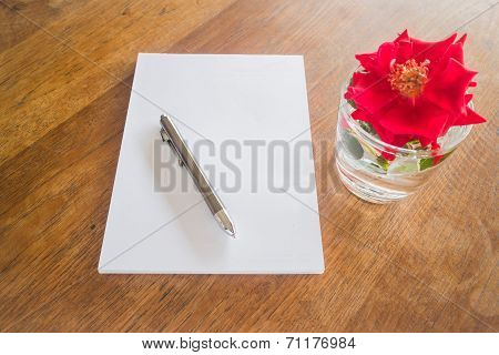 Preparing To Write Love Letter