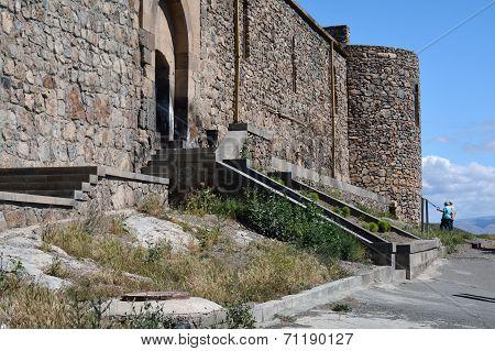 Entrance To Khor Virap Monastery