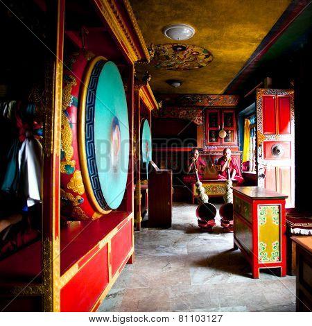 rangu Tashi Choling monastery, Nepal