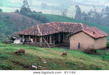 Colombian rural home